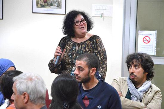 Un public enthousiaste et intéressé a participé à l'animation en posant tas de questions pertinentes